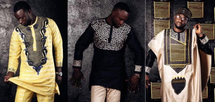 """Fascinating """"Agbada"""" Styles for Men by Amah Fashion House"""
