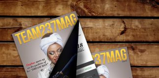 Anyi Asonganyi Graces Cover of Team237Mag