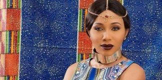 Syndy Emade Flaunts Curves In African Print