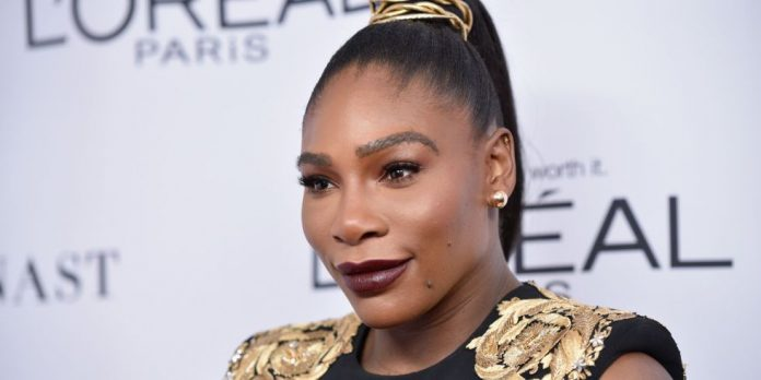 Serena Williams First Red-Carpet Appearance Since Giving Birth