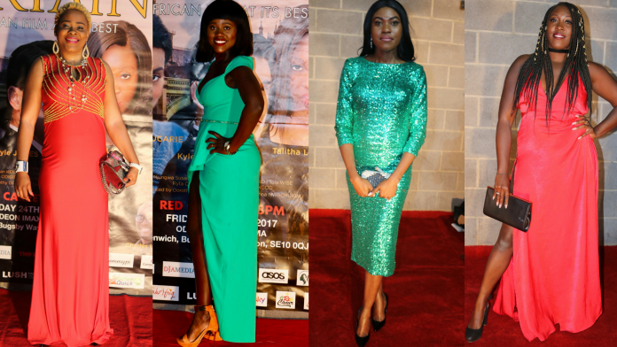 Best Red Carpet Dresses From Movie Premiere of Curtains