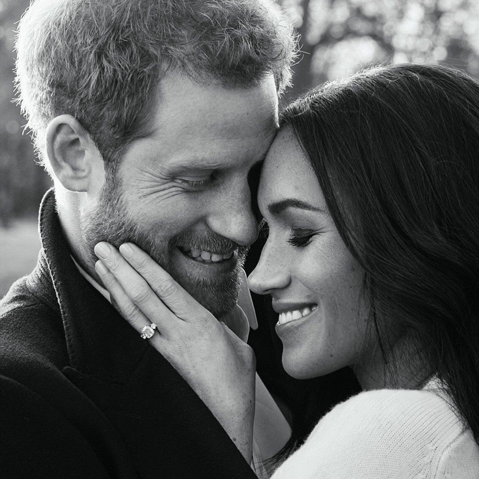 Prince Harry, Meghan Markle Shares Official Engagement Photos