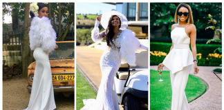 Seven Times Bonang Matheba Slays In Fun Flattering White Outfit