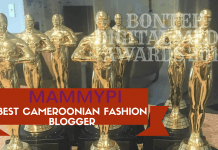 Awards: Mammypi-Best Cameroonian Fashion Blogger #BDMA2017