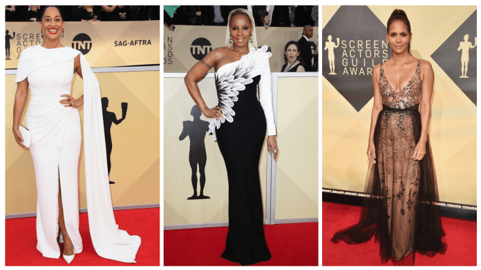 SAG AWARDS 2018 ALL THE SEXY RED CARPET DRESSES
