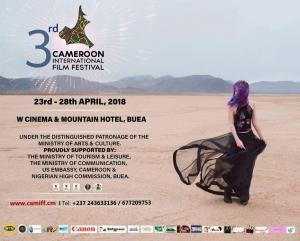 The Official Programme of the Cameroon International Film Festival #Camiff is scheduled to run from 23rd April to 28th 2018