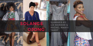 Solange Ojong- Dress Scandal
