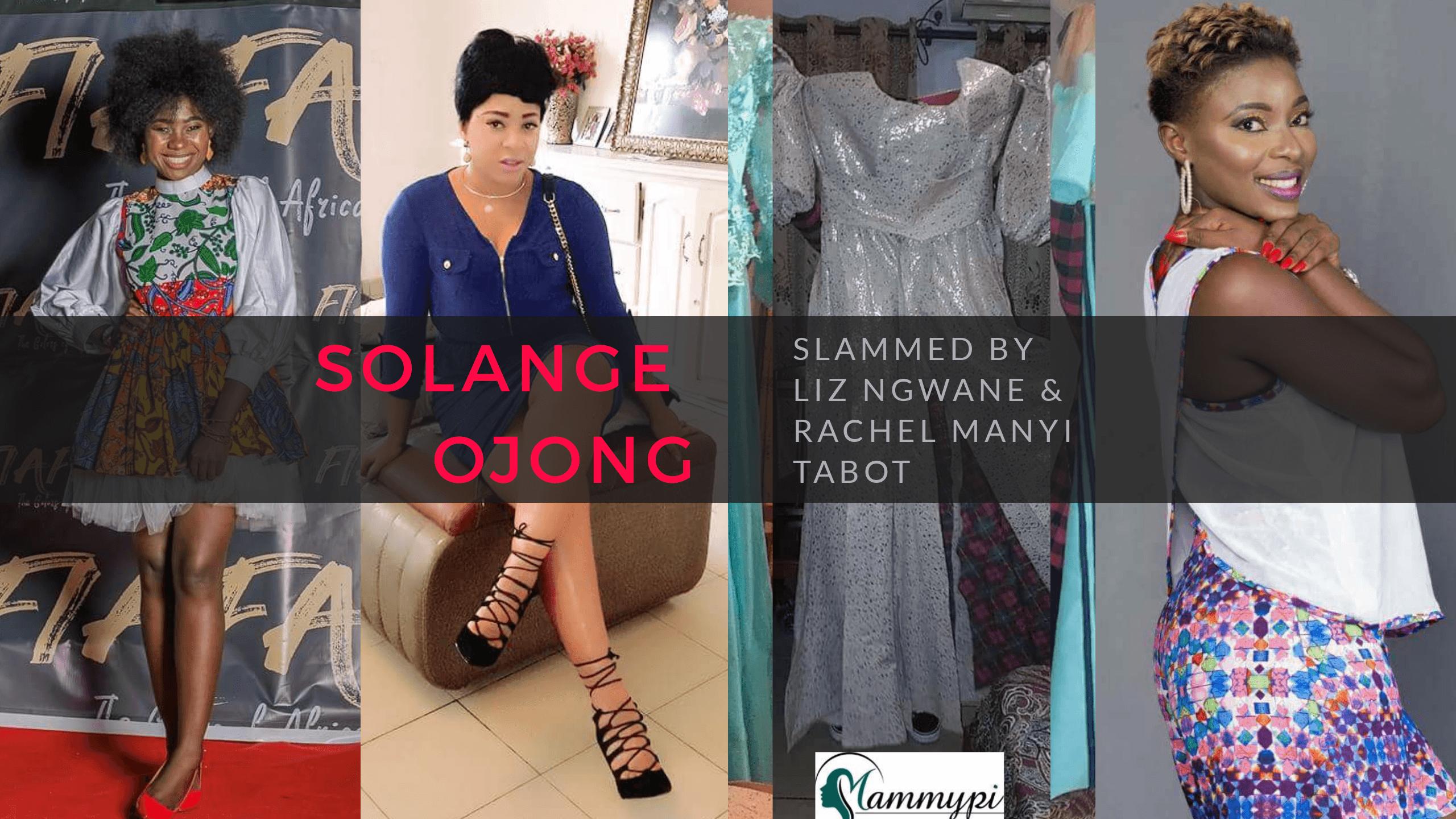 Solange Ojong- Dress Scandal