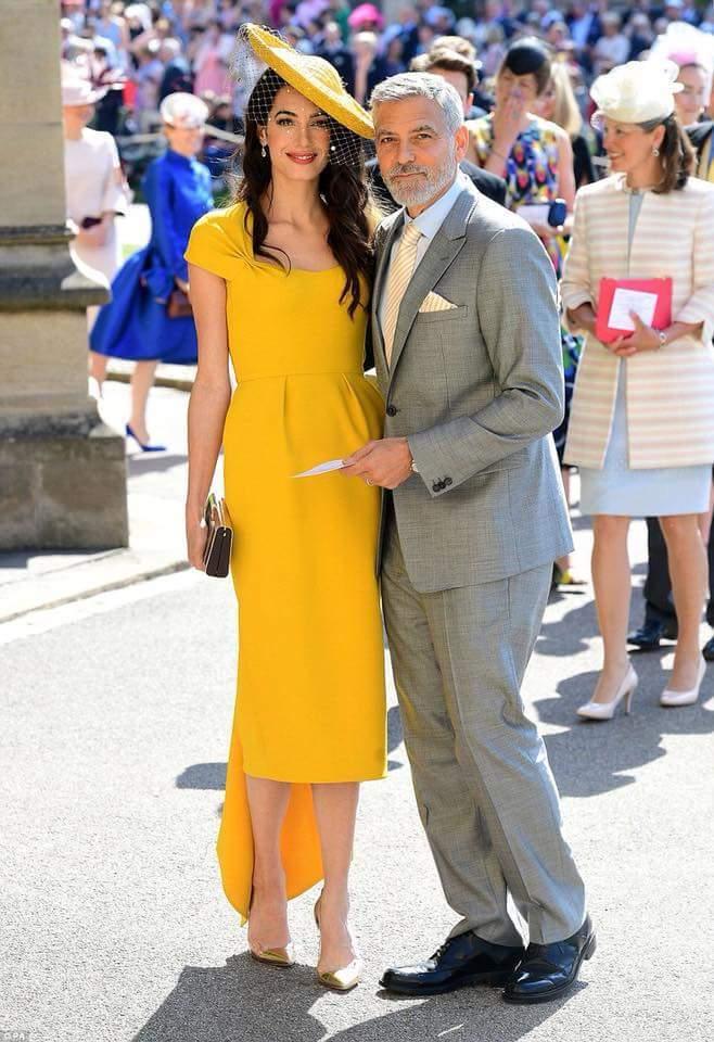 Amal Clooney- Mammypi FashionTV