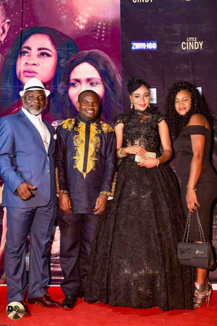 """""""Little CINDY"""" movie premiere: Syndy Emade, Stephanie Tum, Ayuk Tambe, Valery Nchifor dazzling red-carpet looks"""