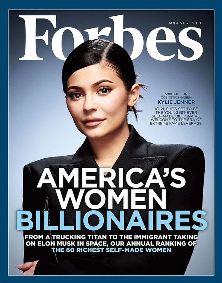 Kylie Jenner Youngest Billionaire- Mammypi FashionTV