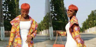 Daphnie Njie slays in colourful African Print Coat by Ozi International -Mammypi FashionTV