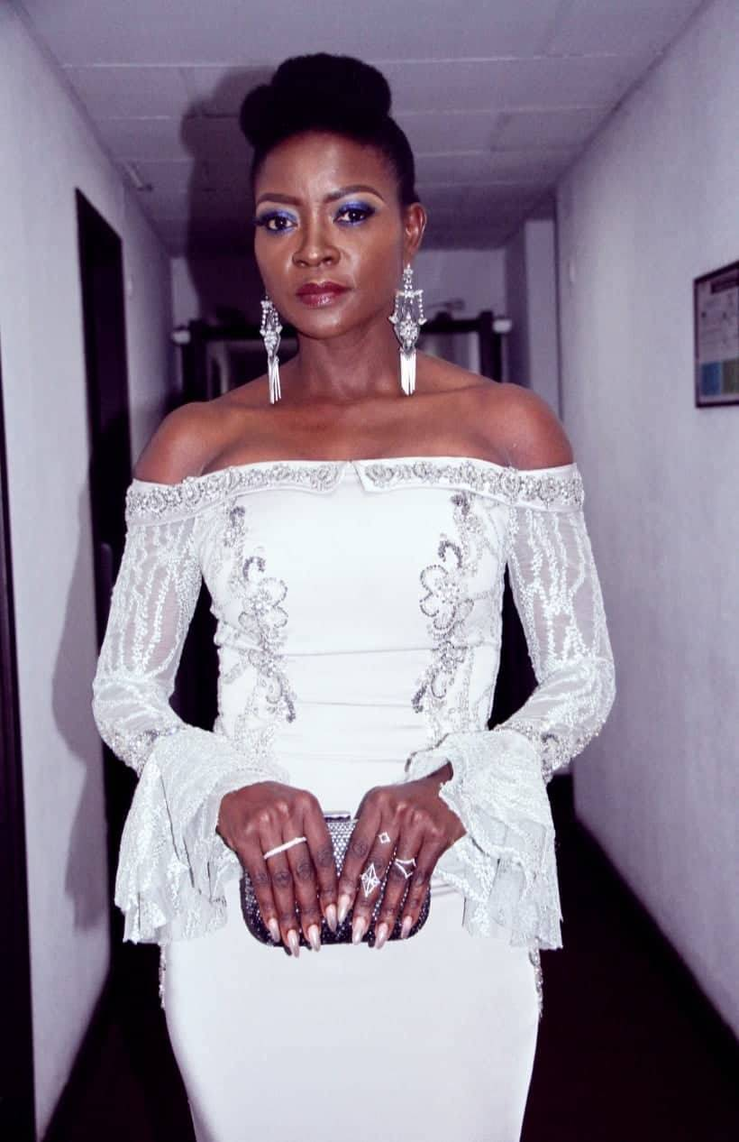 Cameroonian Actress Lucie Memba Bos- Mammypi FashionFTV