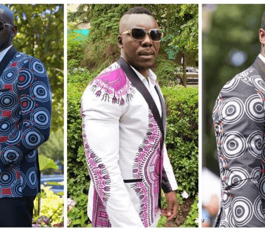 Hot Ankara Blazer Styles for men