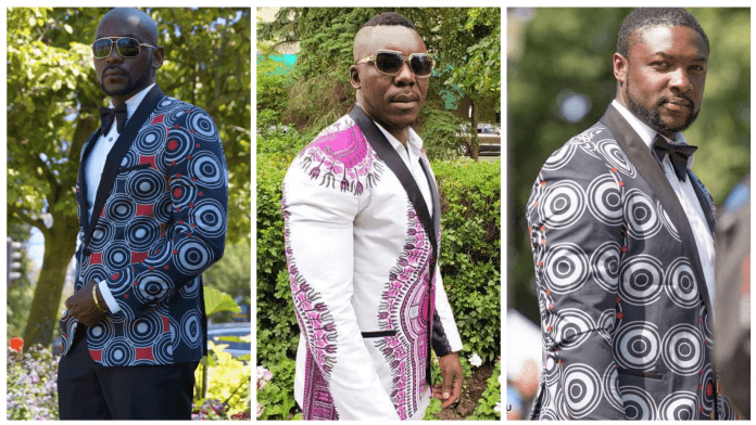 Hot Ankara Blazer Styles for men