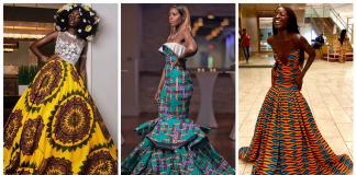 Claude Kameni Haute Ankara Dresses - @LaviebyCK