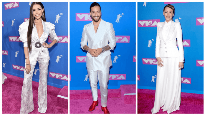 MTV VMA 2018 ALL WHITE