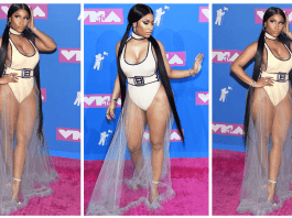 NICKI MINAJ MTV VMA 2018 LOOK