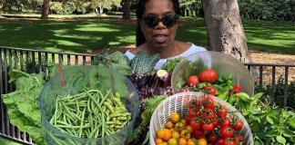 Oprah Winfrey Vegetable Garden