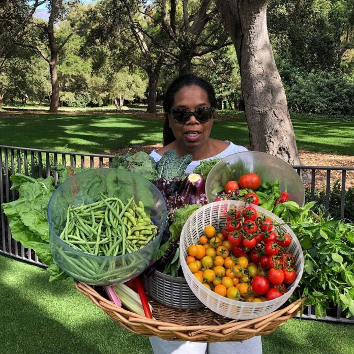 Oprah Winfrey Vegetable Garden