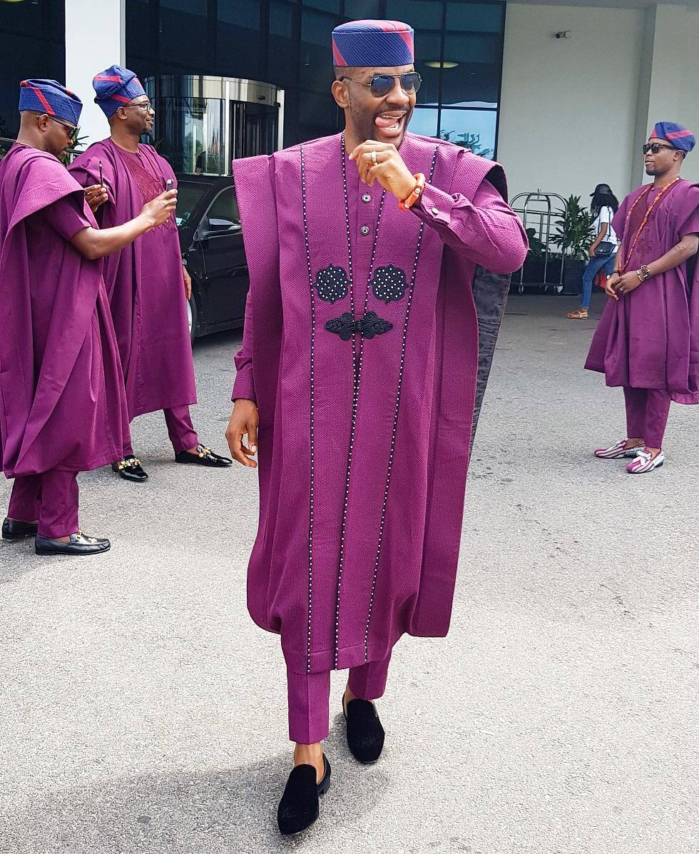 Dapper in Agbada