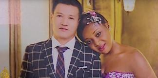 Cameroonian Interracial Couple in China Sandra and Zou