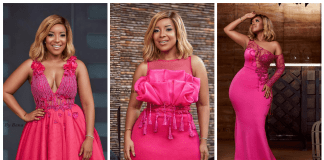 "Joselyn Dumas in SHE By Bena Collection: ""Pink October II"""