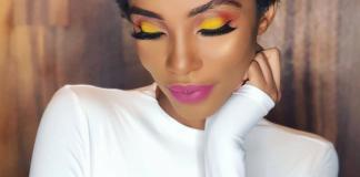 Autumn beauty look inspired by Valerie Ayena