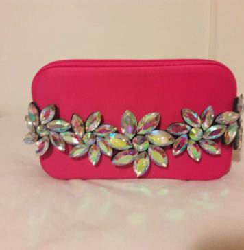 DIY PINK CLUTCH INSPIRATION BY WELE ELANGWE