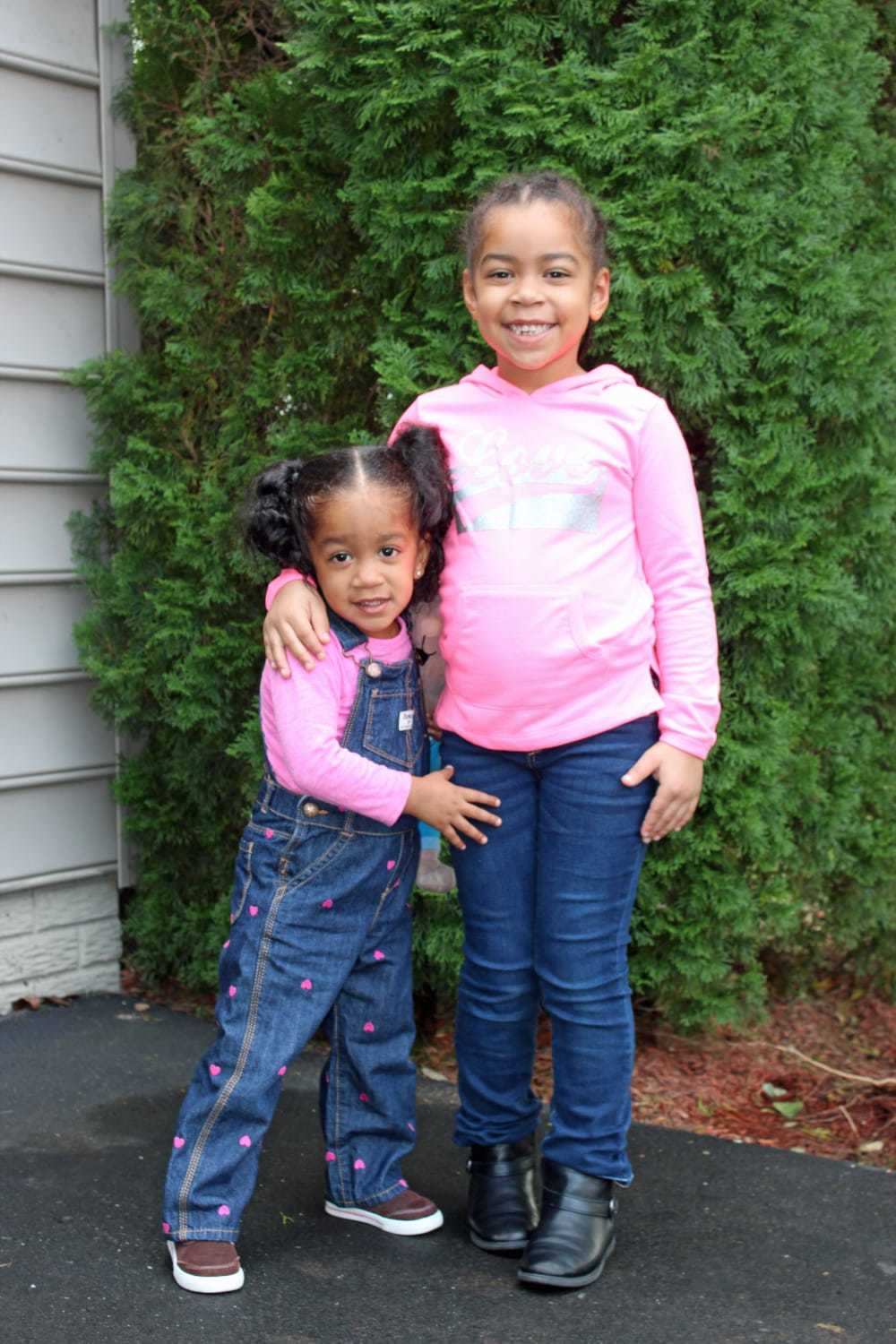 Girls in Pink and denim