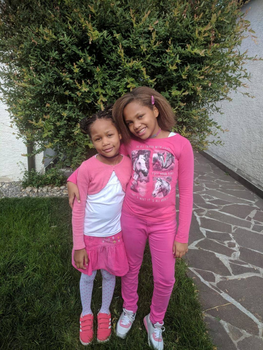 Girls in Pink