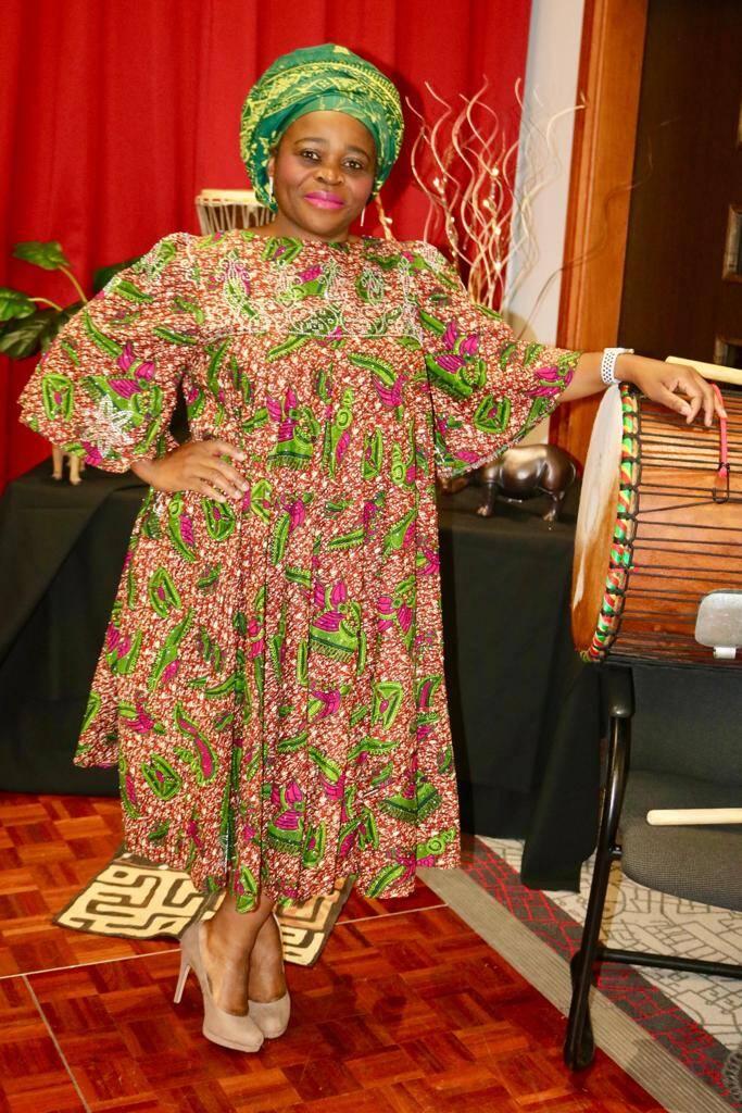 Diamond Embellished Kaba Dress Style