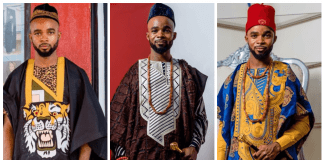 Latest Agbada Styles By Kingsley Prince Noni