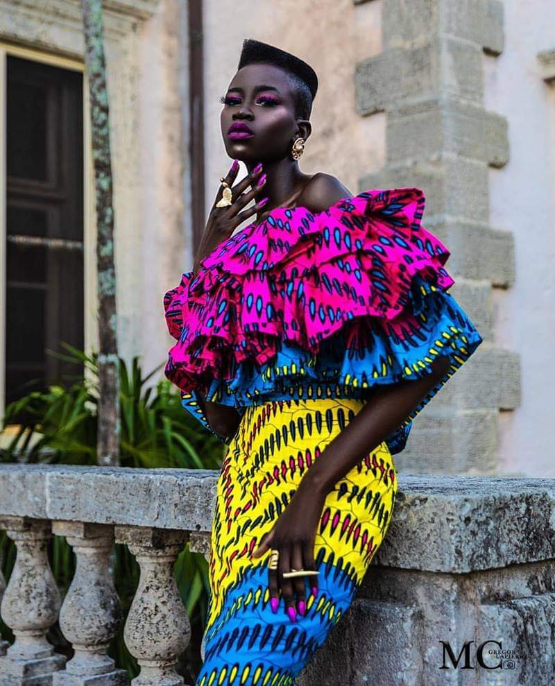 Bold Fashion Statement African Print Dress