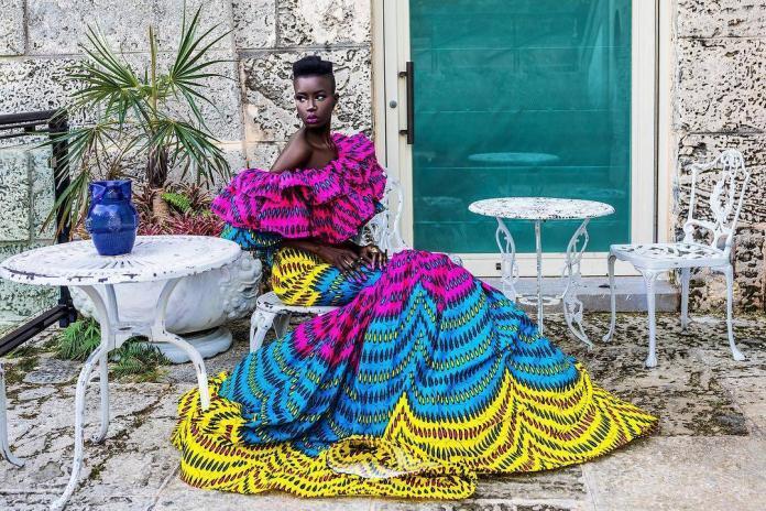 La Vie By CK Ankara Ball Gowns