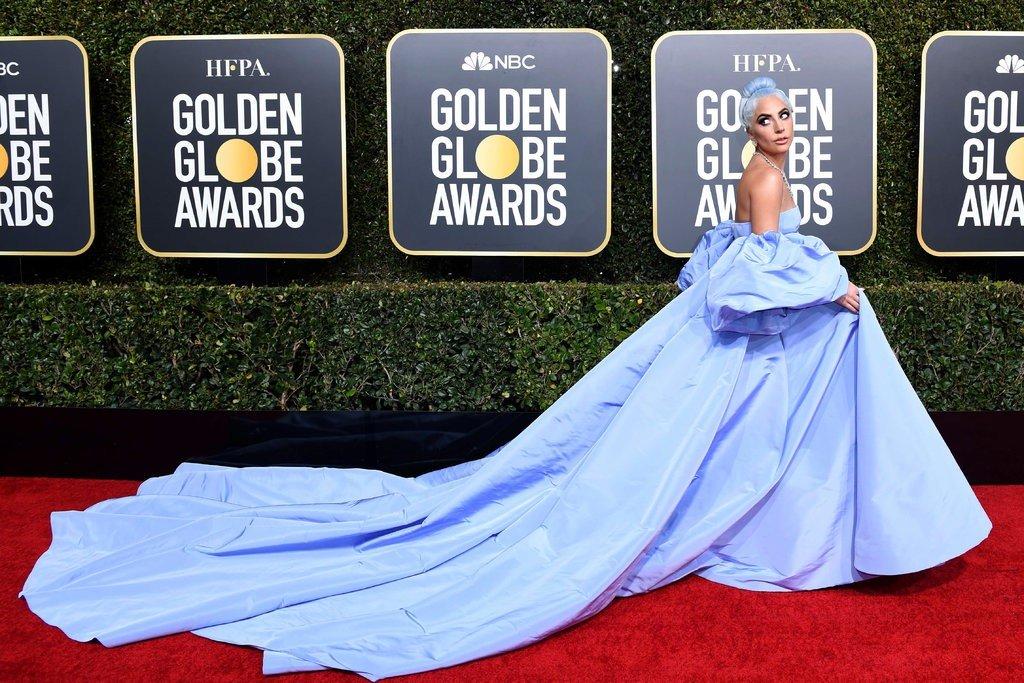 Lady Gaga in Valentino Dress