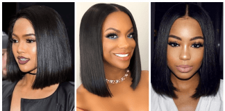 Beautiful Black Women Who are Making The Blunt Bob hair Cut Sexy