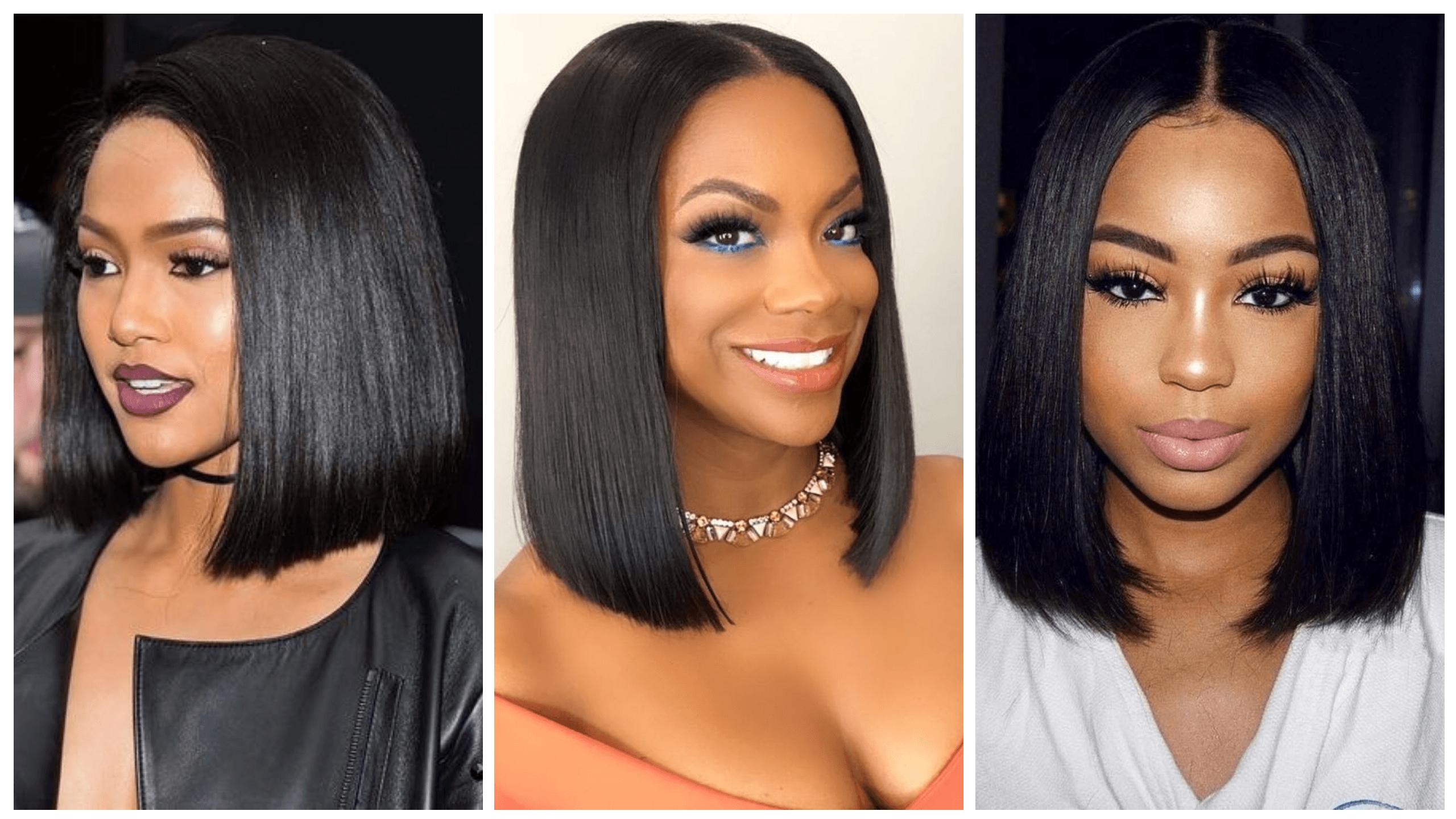 Latest Blunt Bob Cut Hairstyles For Black Women | Mammypi.com