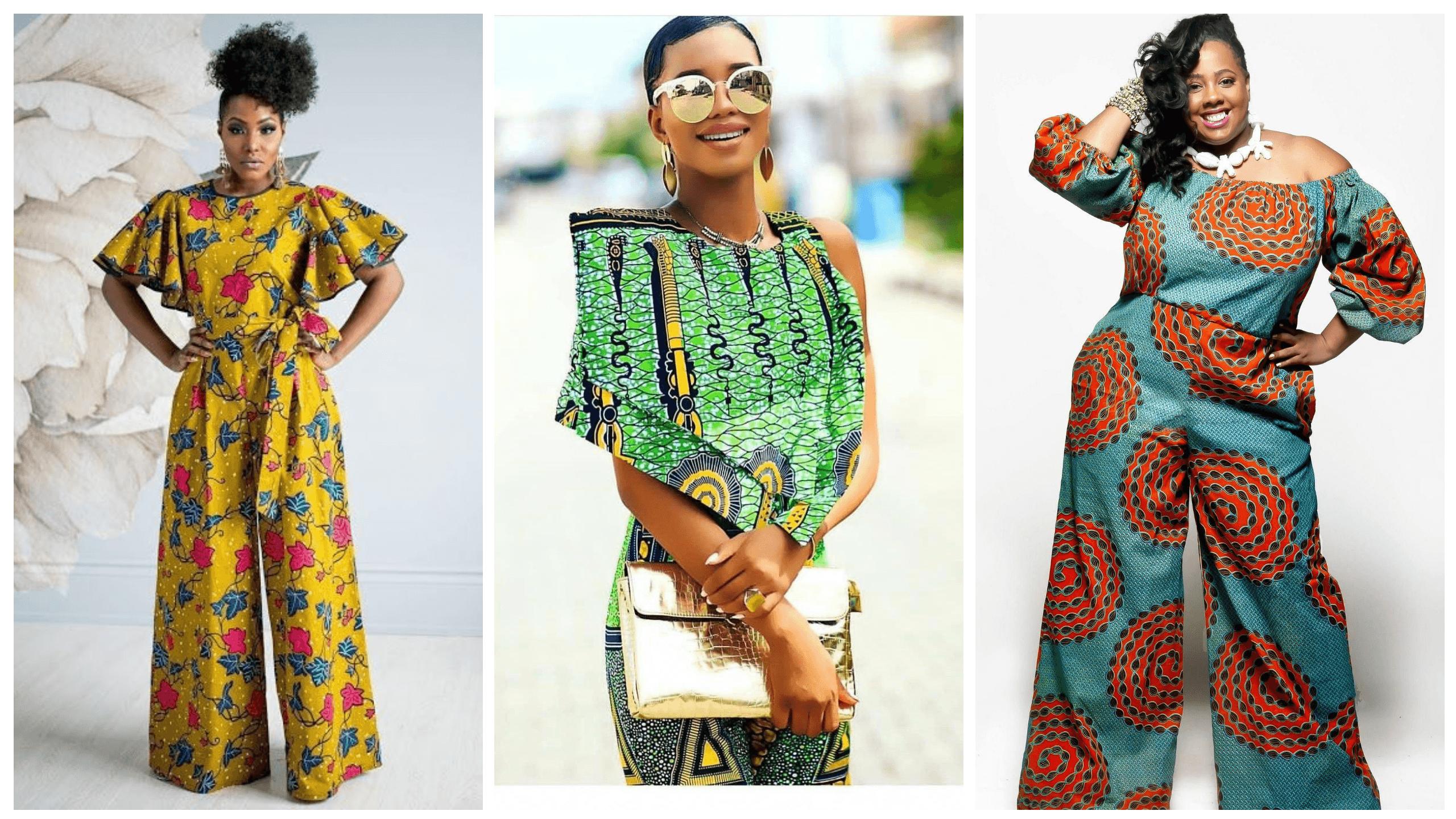 Ankara Jumpsuits Are Trendy Stylish And Fashionable Mammypi Com