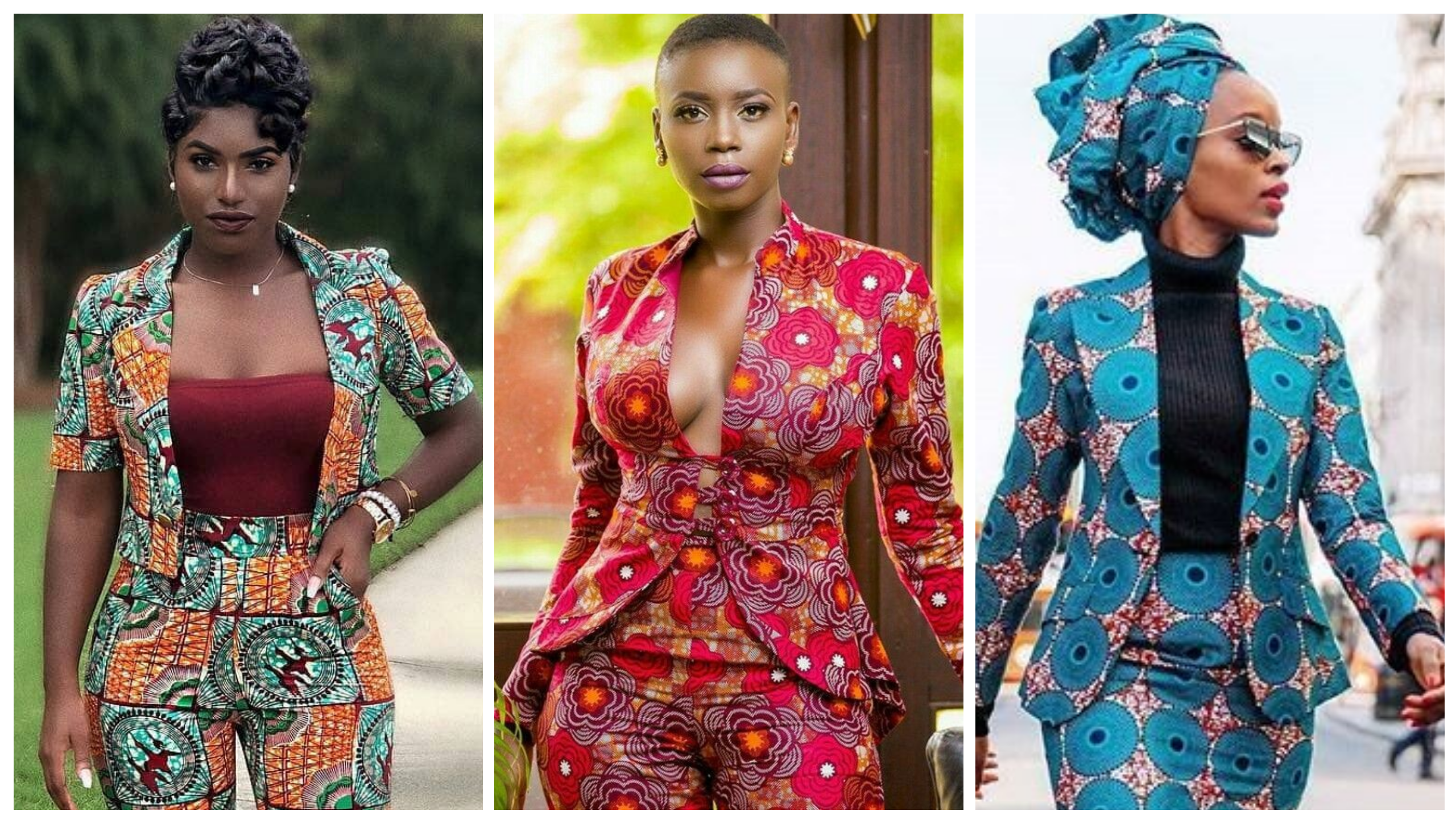 Key Fashion Trends 2019 Ankara Casual Suiting For Women