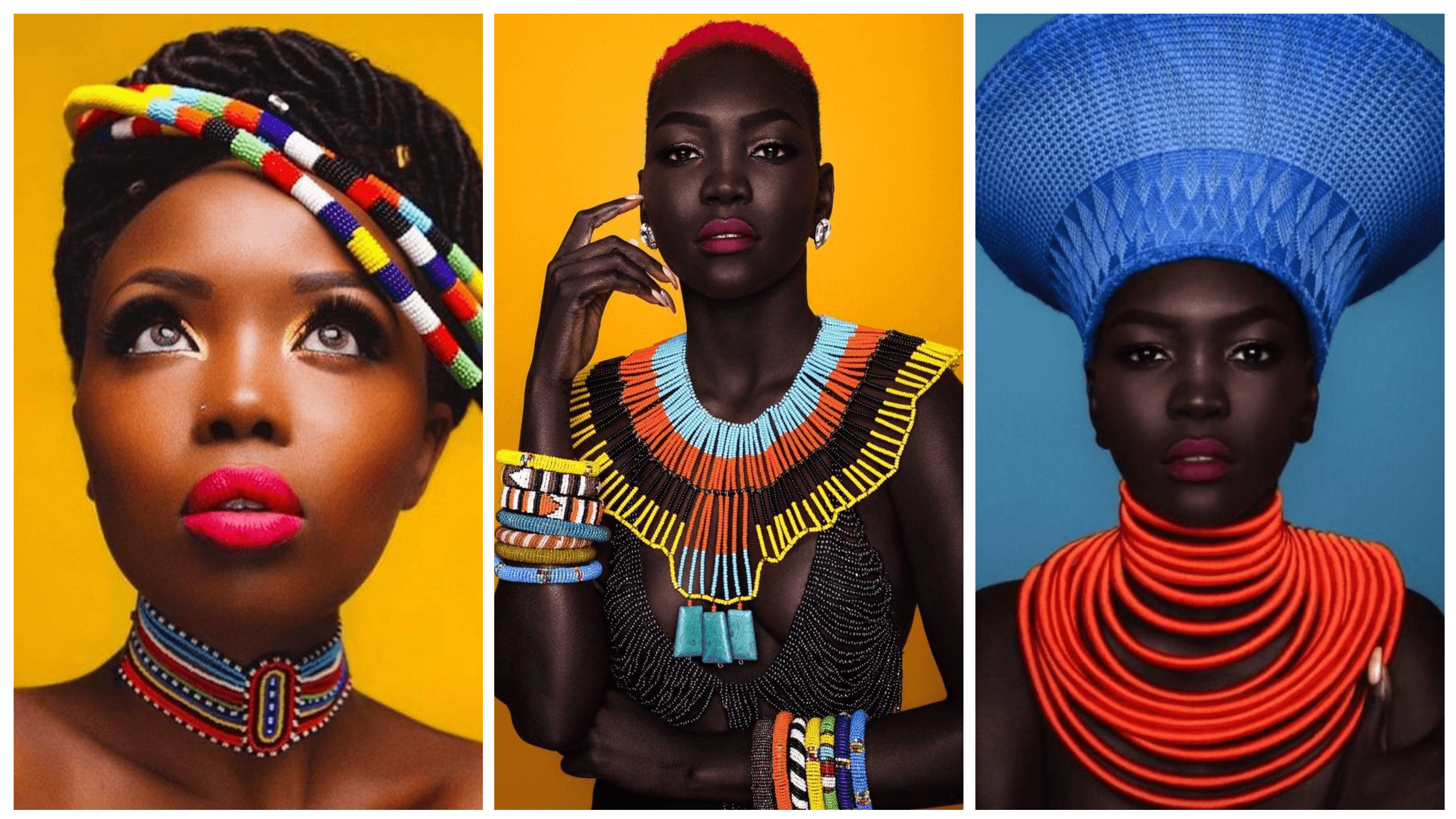 Colourful African Print Jewelry