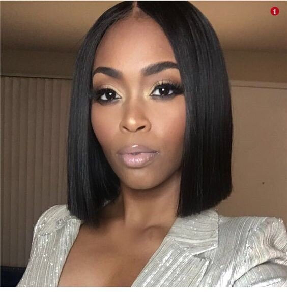 Beautiful Black Women Who are Making The Blunt Bob hair Cut Sexy