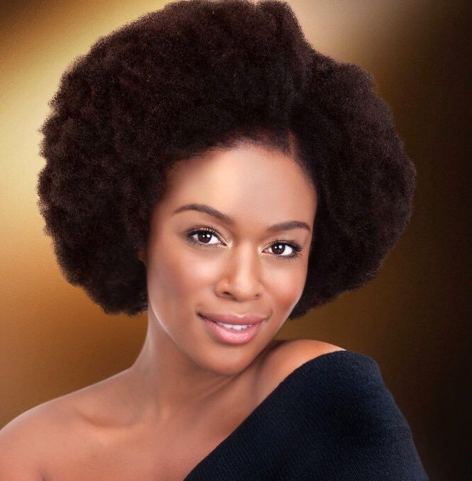 Big Afro styles