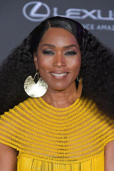 Angela Bassett in Fulani Earrings