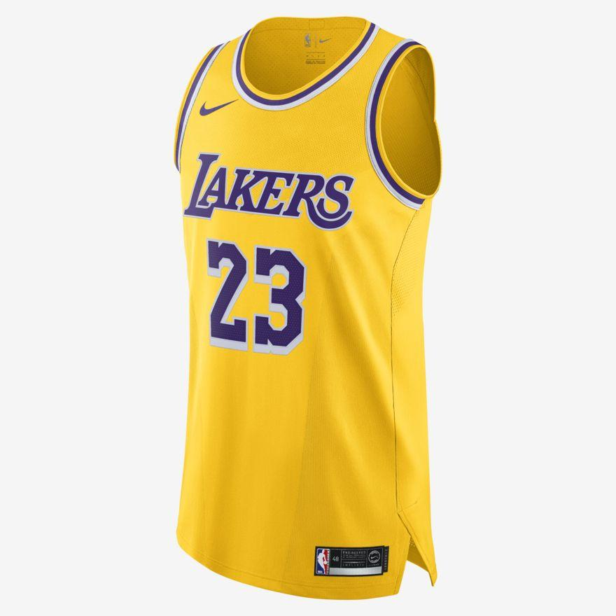 LeBron James Icon Edition Authentic (Los Angeles Lakers)