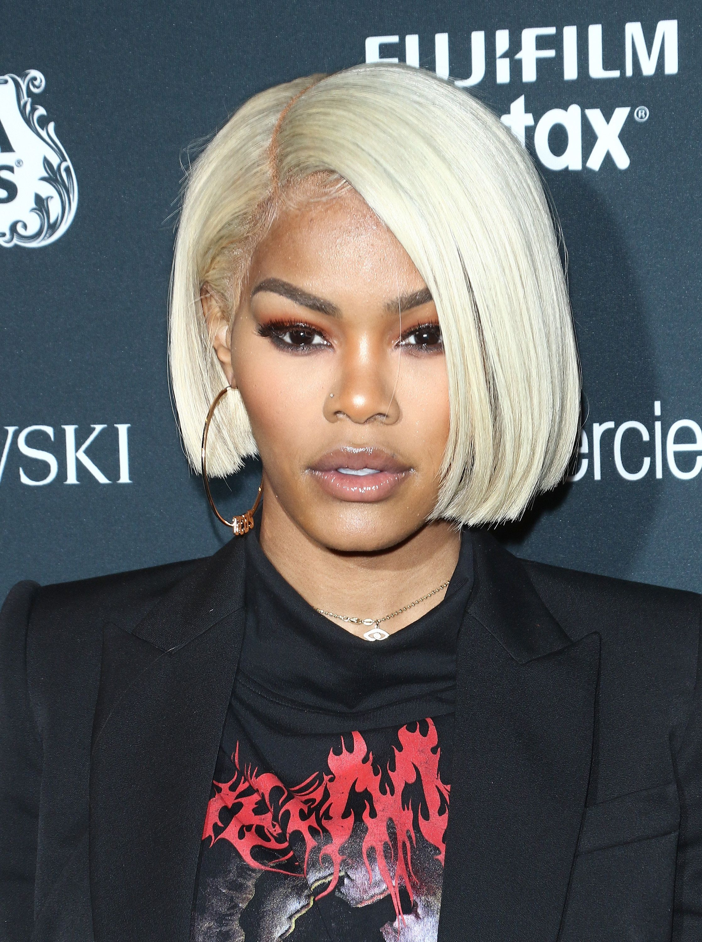 Teyana Taylor in Rich Blonde Hair