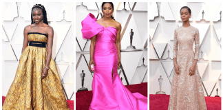Black Panther Cast Oscars 2019 Dresses