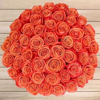 Valentine's Dayroses Orange Roses