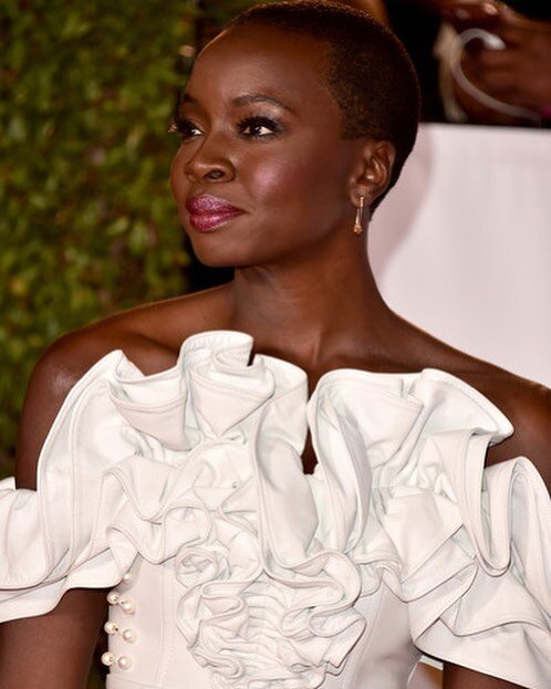 Danai Jekesai Gurira Chic Haircuts and bald looks