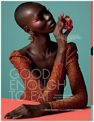 Cameroonian Model Marie Graobe